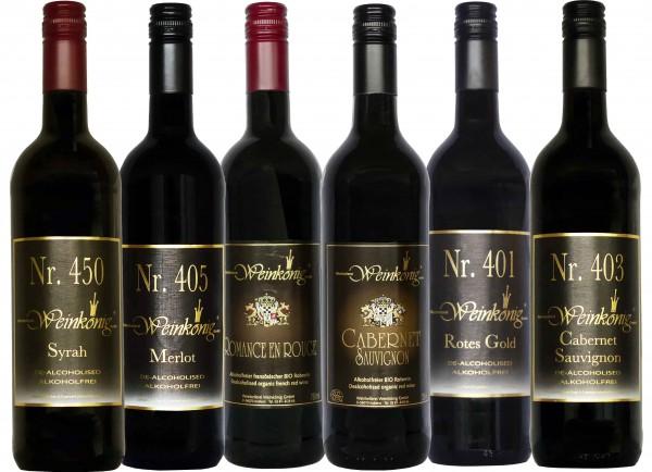 6er Rotwein-Probierpaket