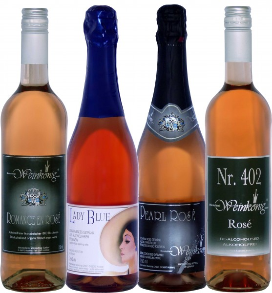4er Rosé-Probierpaket